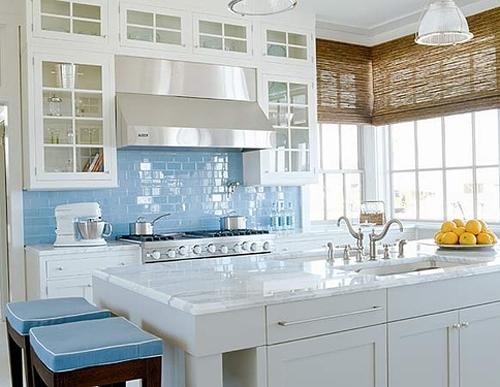 Kitchen Back Splash Glass Tile